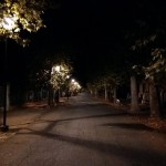 Viale Santa Croce - by night
